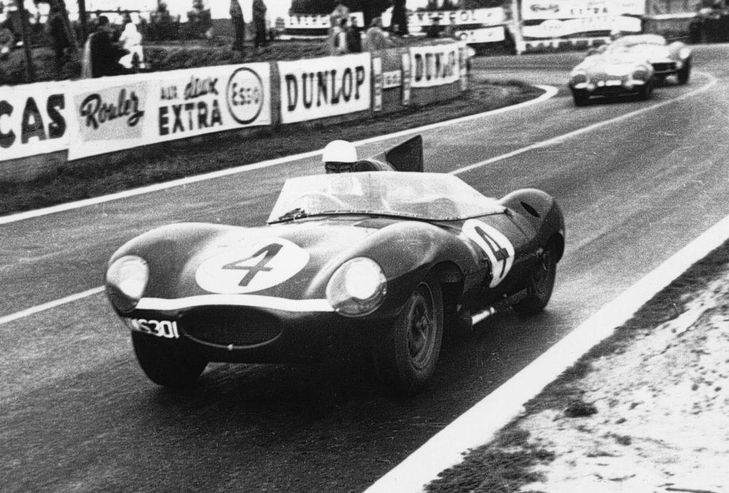 Jaguar D-Type Le Mans 1956