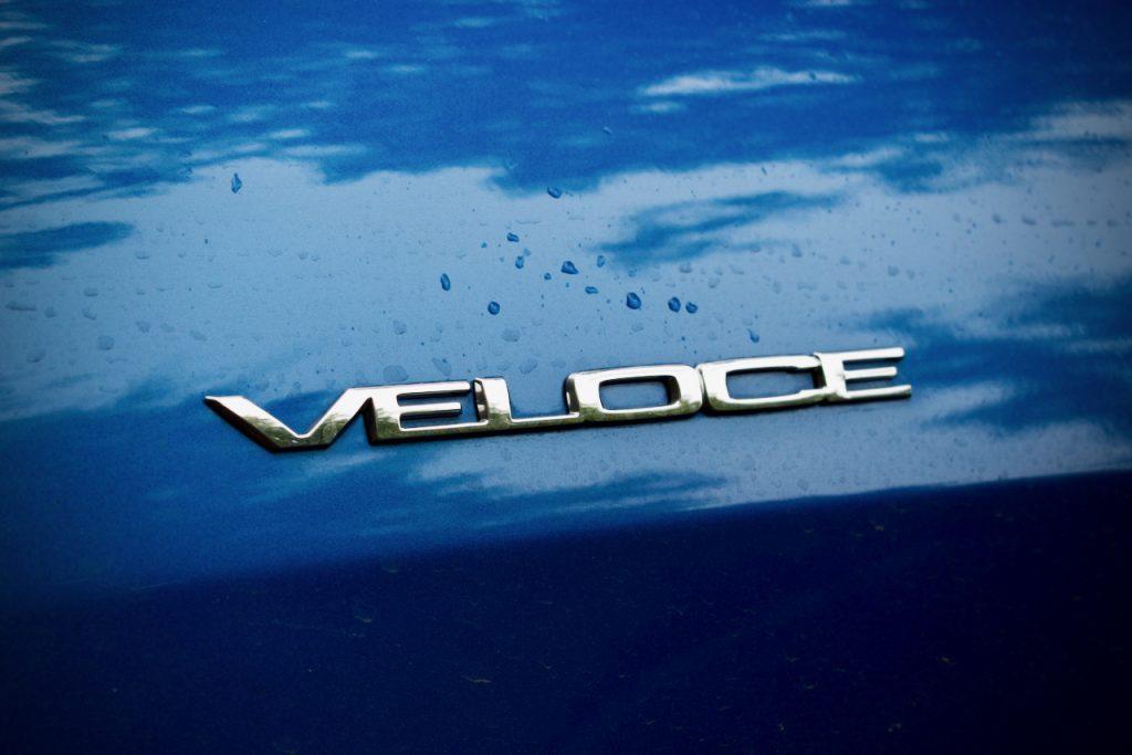 Alfa Romeo Giulia Veloce badge