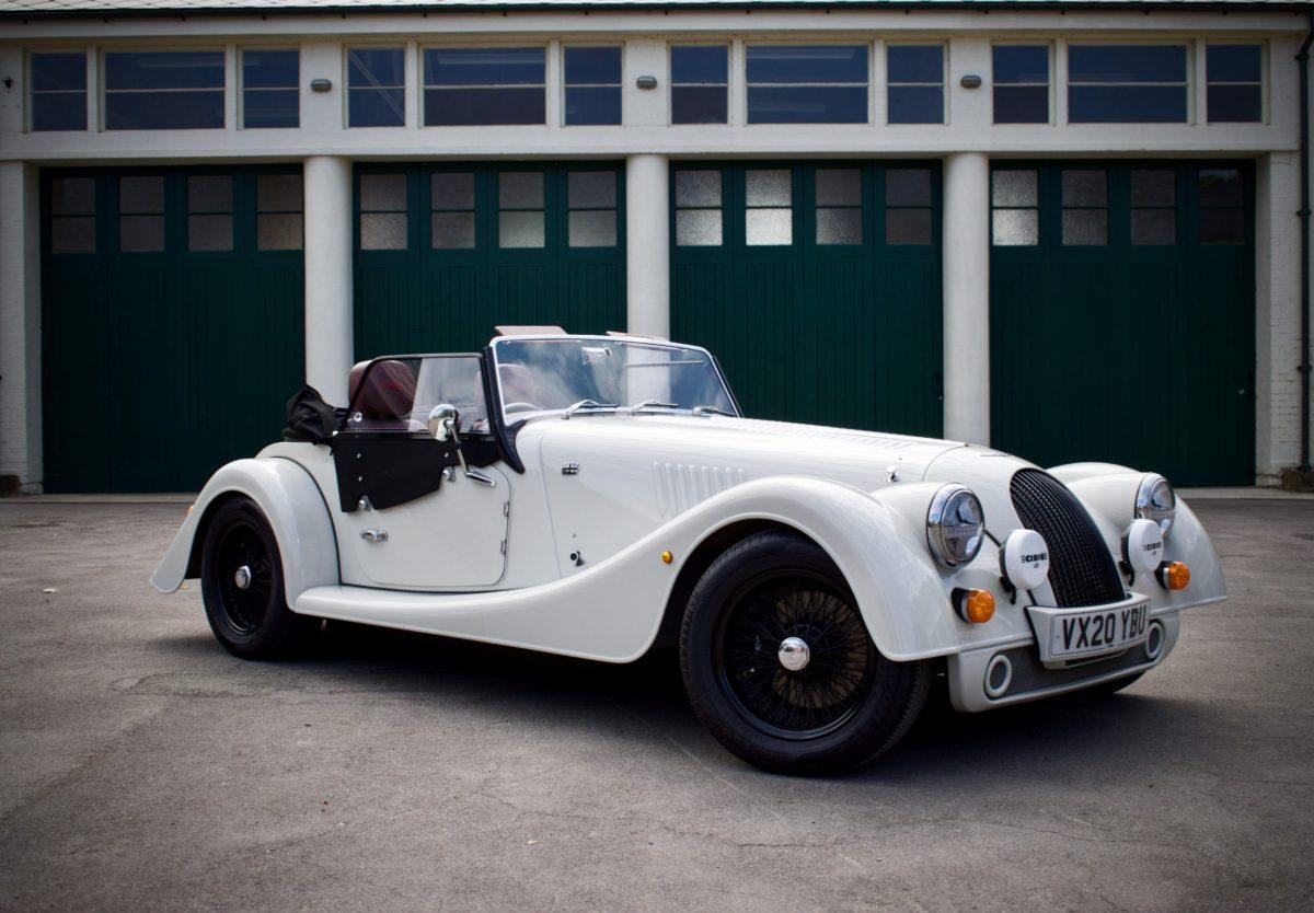 Morgan Plus Four white