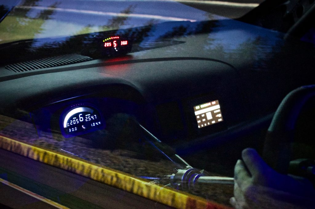 GTS RS internal display