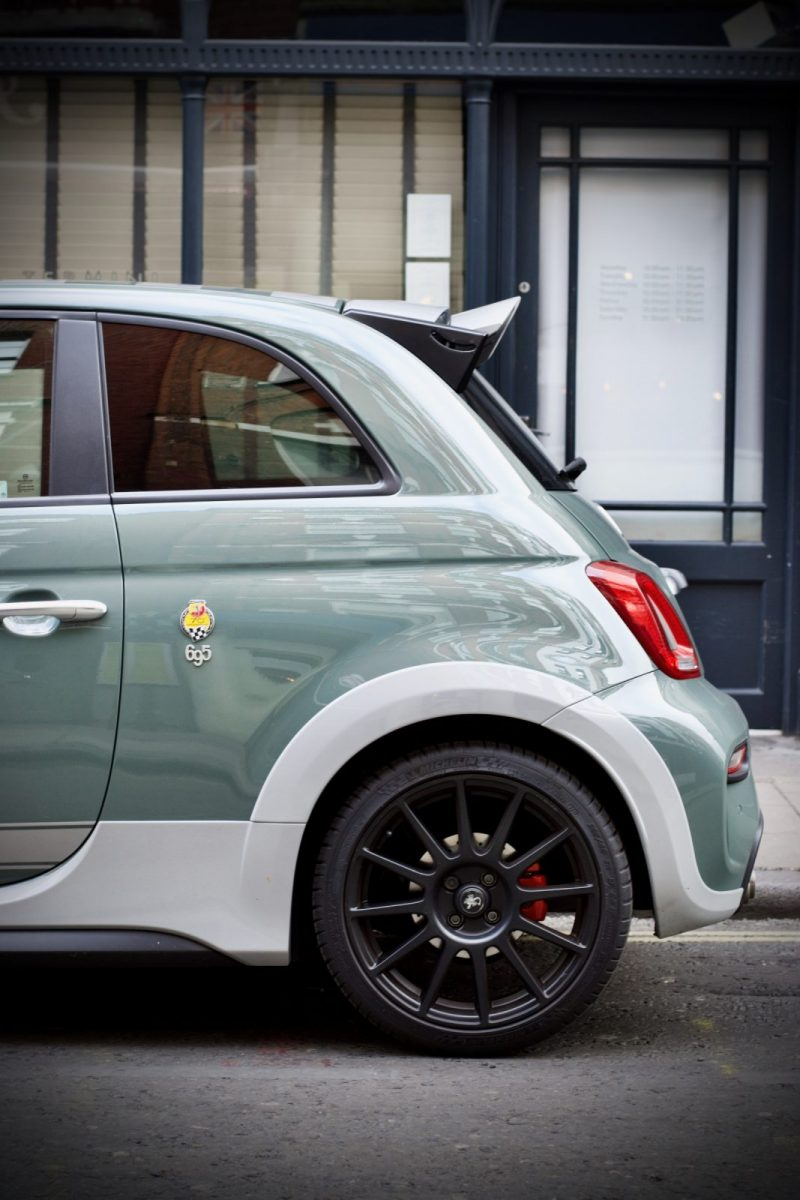 Abarth 695 rear view