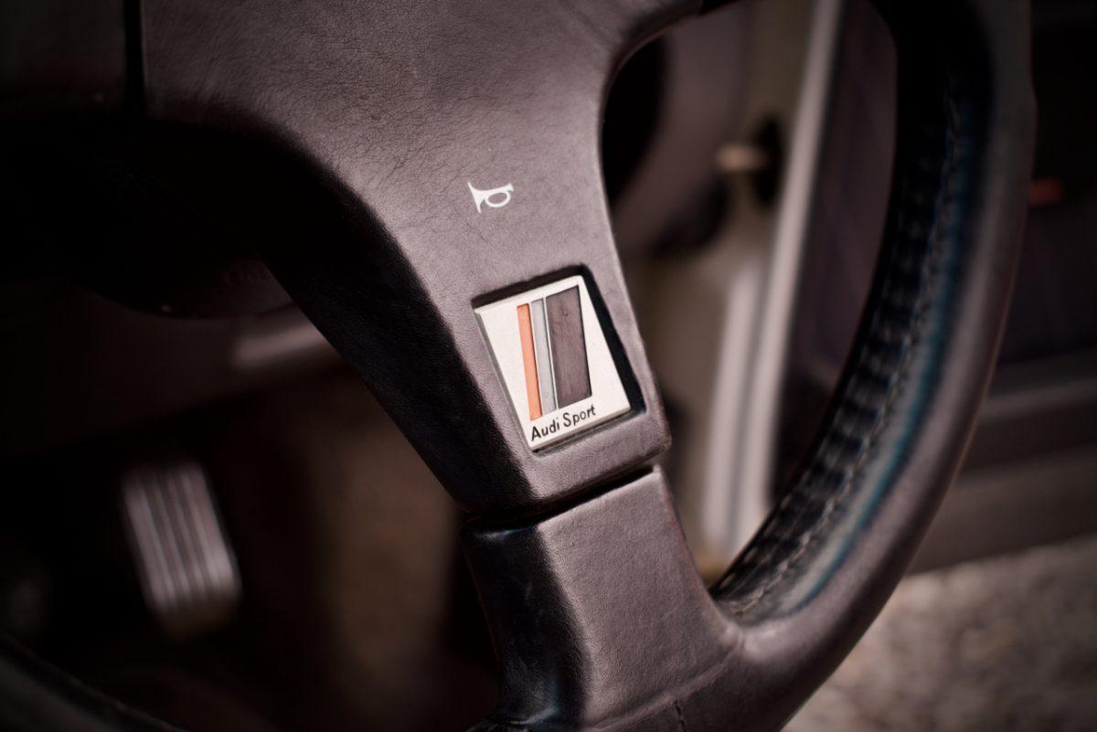 Audi sport steering wheel from Ur-Quattro