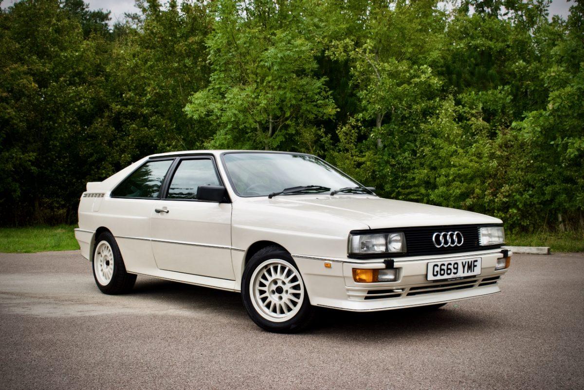 Original Audi Quattro - front shot