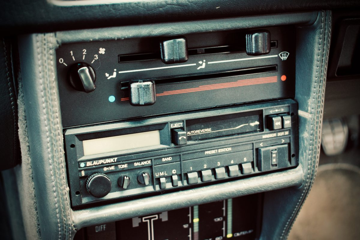 Blaupunkt stereo from Audi Quattro