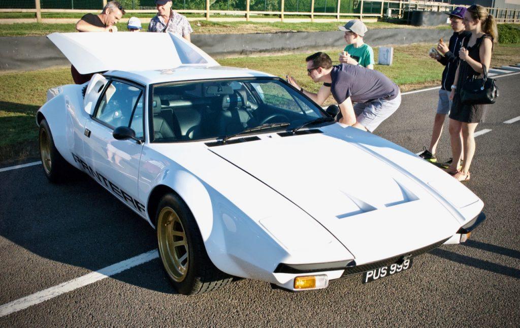 1972 De Tomaso Pantera in white