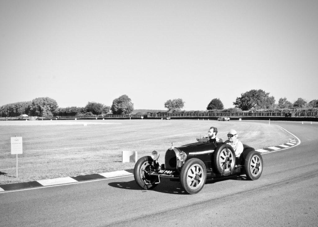 Vintage Bugatti Type 35 at Goodwood