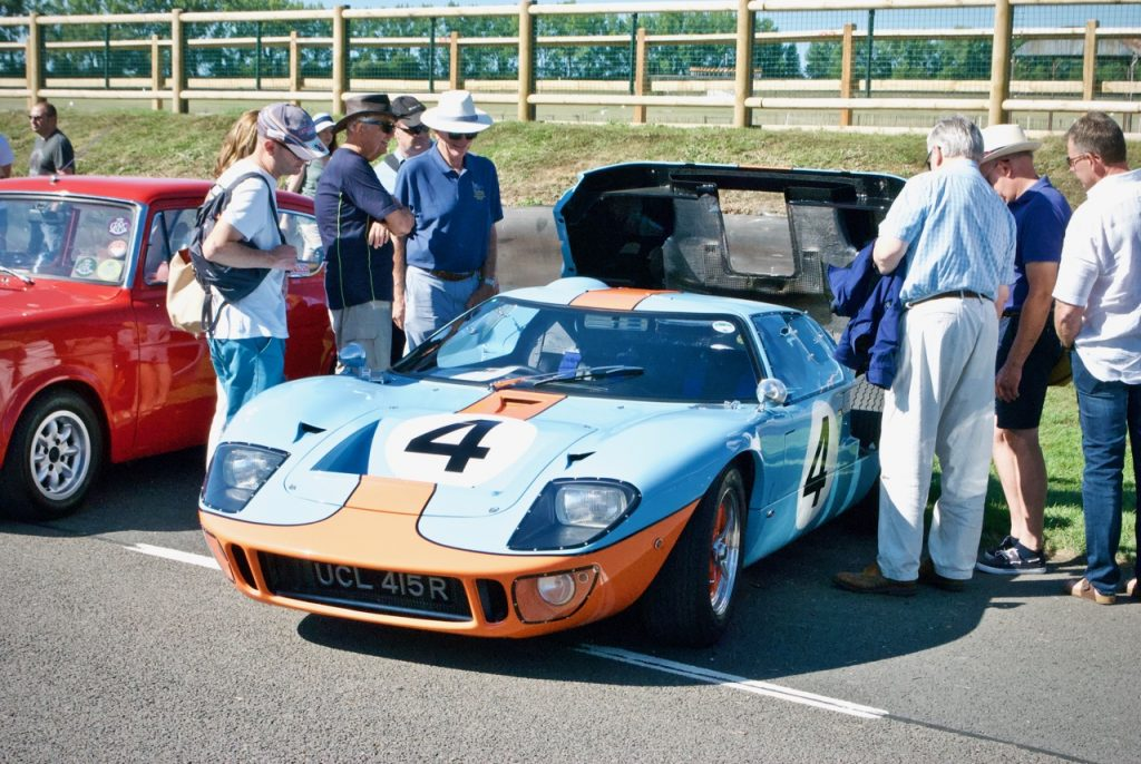 1972 Ford GT40 at Goodwood race track