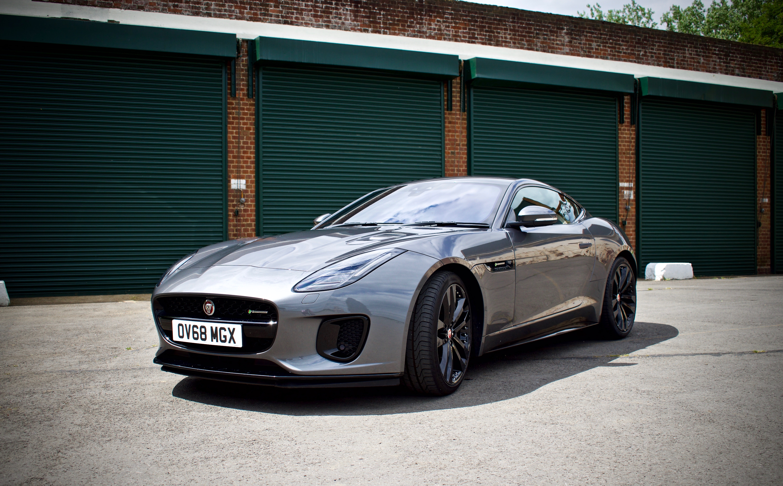Jaguar F-Type at Bicester Heritage