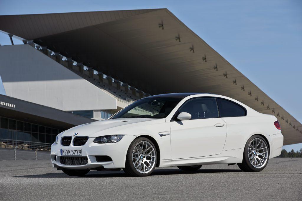 BMW E92 M3 white