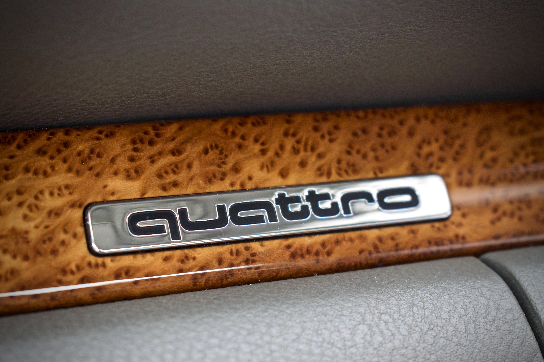 Audi quattro badge