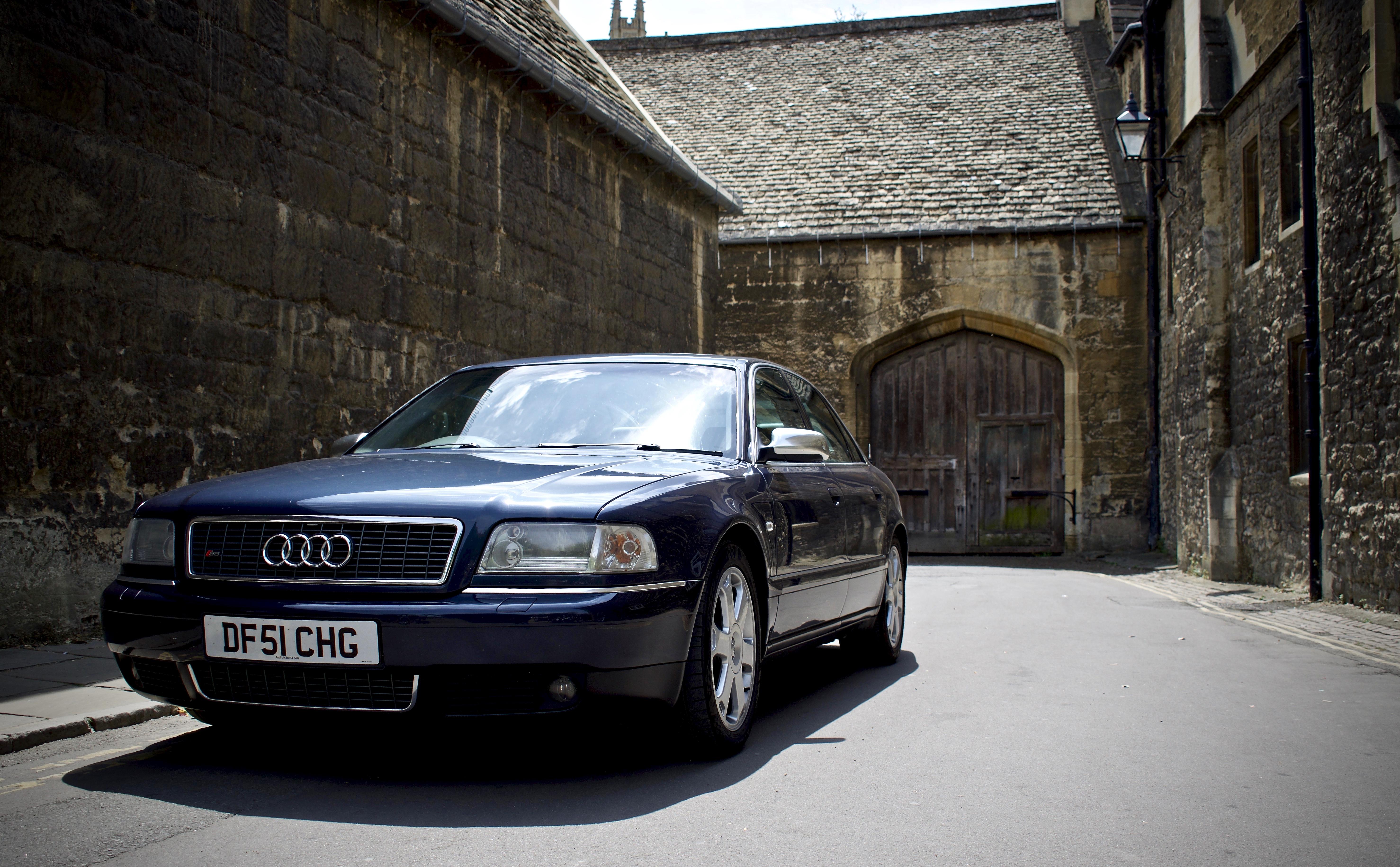 Audi S8 in oxford