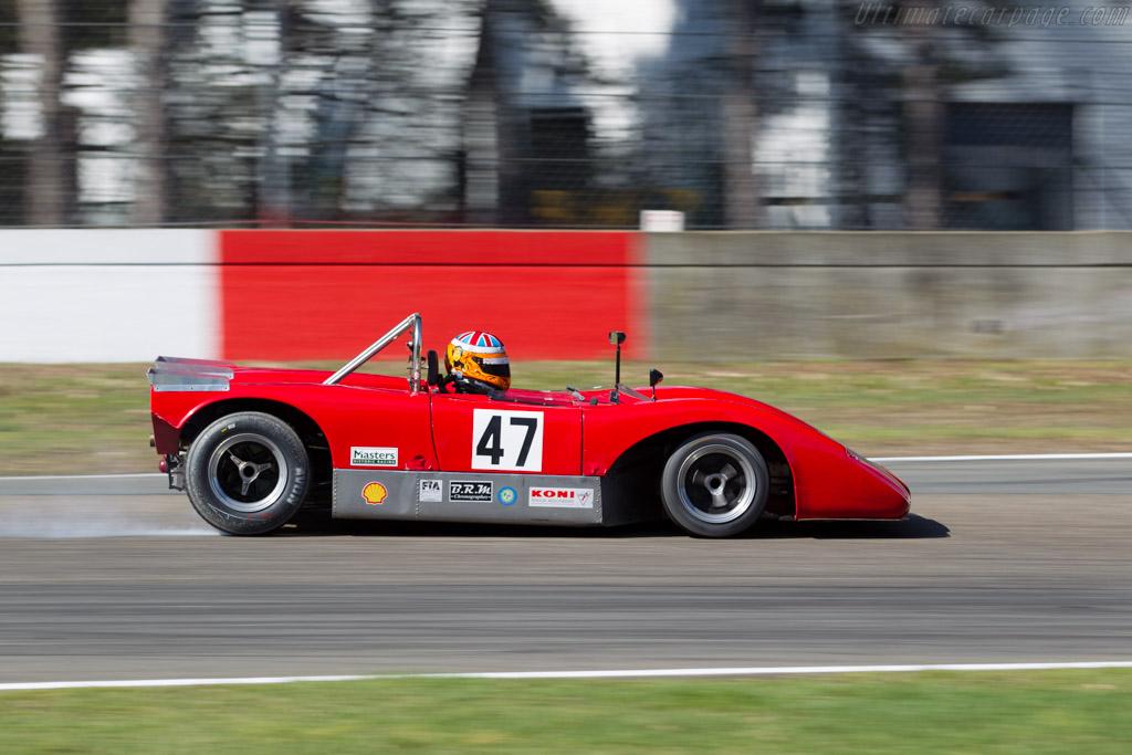Lola T120 driving fast